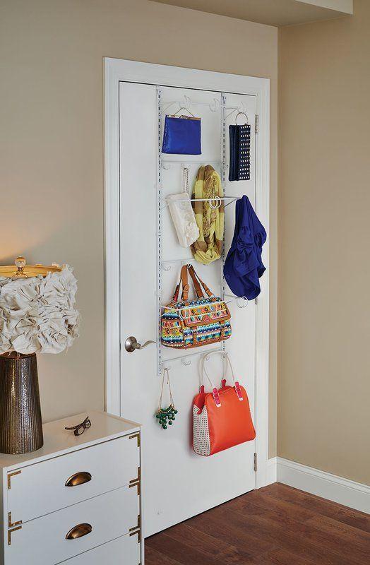 Bedroom Door Rack