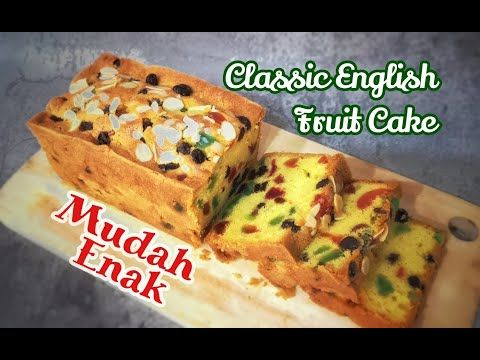 Fruit Cake English Classic English Fruit Cake Youtube Kue Buah Makanan Makanan Dan Minuman