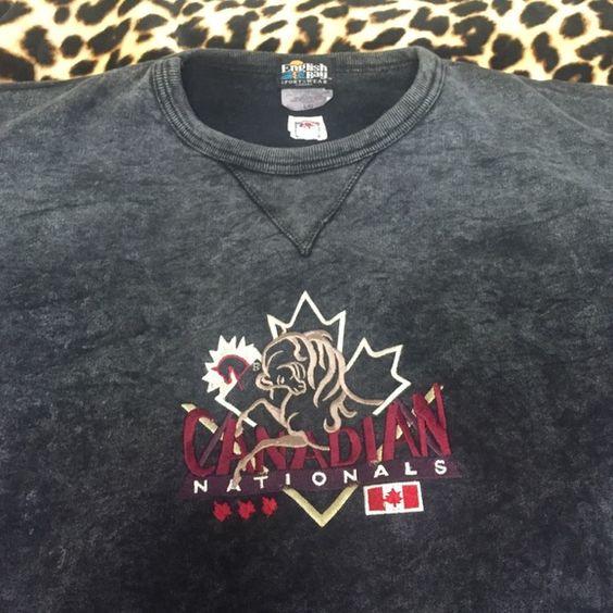 Canadian Sweatshirt EUC! Canadian Nationals Sweatshirt. NO FLAWS Tops Sweatshirts & Hoodies