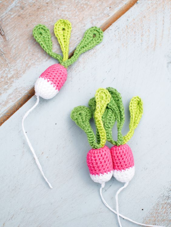 Crochet Patterns Vegetables Free : Free pattern. Also, a nice blog with more ideas and free pattern posts ...