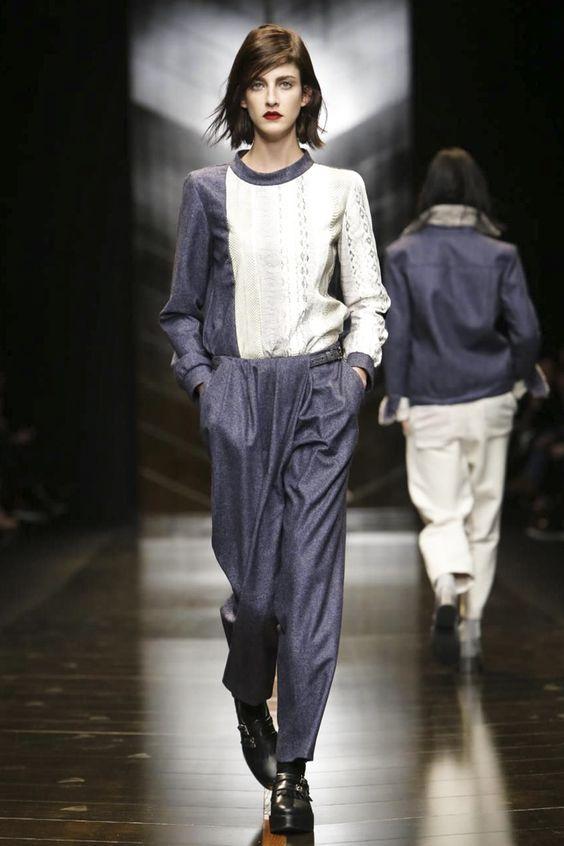 Trussardi Ready To Wear Fall Winter 2014 Milan - NOWFASHION