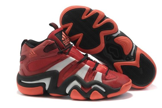 Adidas Crazy 8 Mens Basketball Shoes - Red For $67.90 Go To:  http://www.cheapkobeshoesmall.com