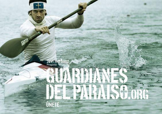 """Anuncio de campaña Teaser """"Guardianes del Paraíso"""". Javi Hernanz, piragüista  #TurismoActivo #piragüismo #ParaísoNatural"""