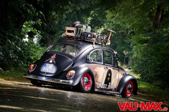 Fear Bug - VW Käfer im Hod Rod Custom Mix