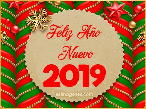 Tarjetas Para Año Nuevo 2019 Tarjetas Con Nombres