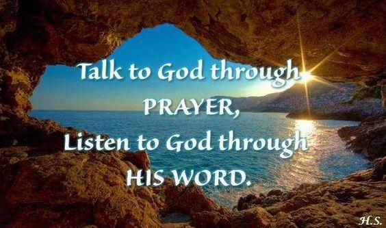 Talk then listen