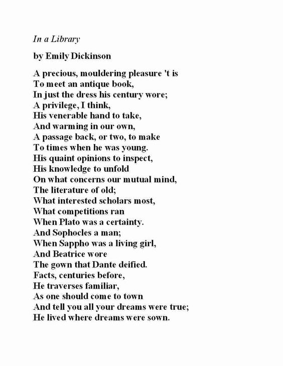 how to read emily dickinson