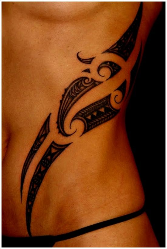30 maori tattoos to rep your roots maori tattoos girls for Small ass tattoos