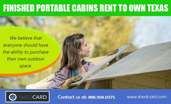 Rent-to-own for sheds