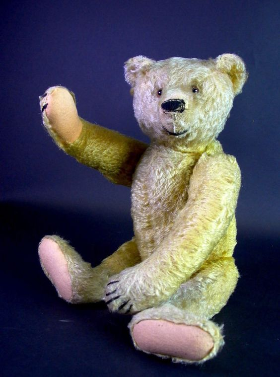 antiker Steiff Teddy Teddybär - 43cm - Vorkrieg