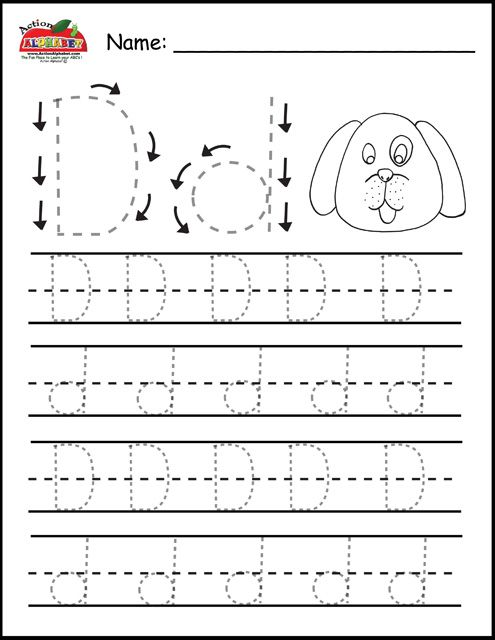 Free Prinatble Aphabet Pages ~Preschool Alphabet Letters ...