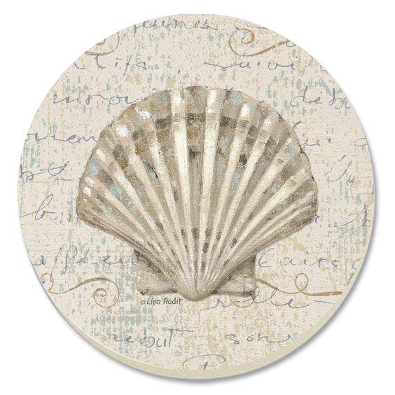 Clip art seashells and clock faces on pinterest for Seashell clock