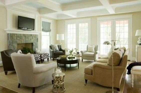 Soggiorno salotto ~ 10 idee per il colore delle pareti in soggiorno salotto bianco panna