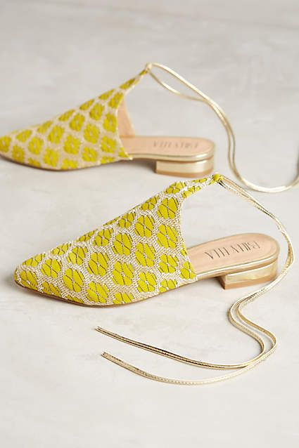 Surprisingly Cute Yellow Shoes