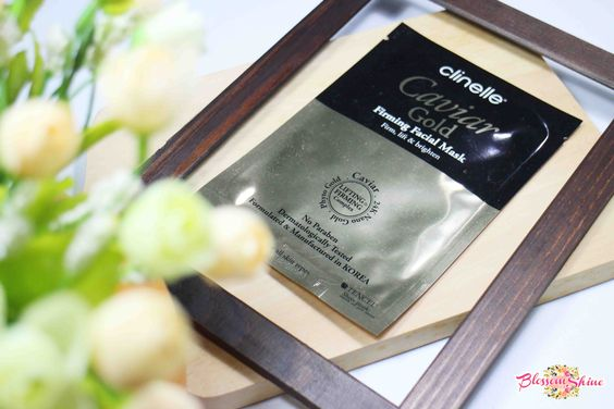 Clinelle CaviarGold Firming Mask