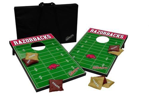 Arkansas Razorback Cornhole Bean Bag Toss Game