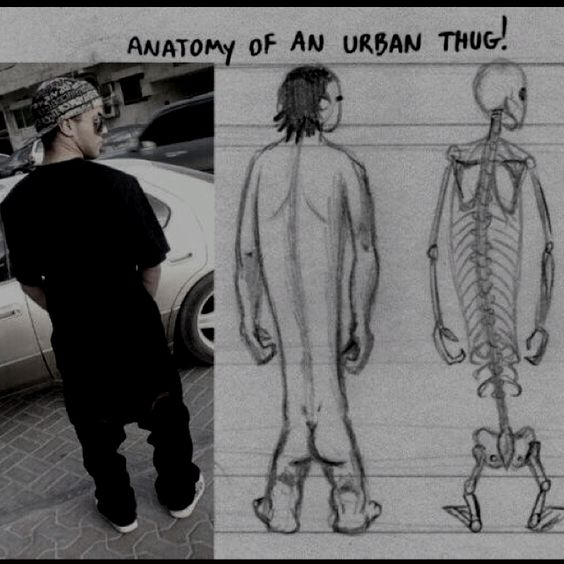 Anatomy of an urban gangsta...