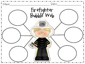 The Fabulous First Grade: Fire Safety! and Freebie!