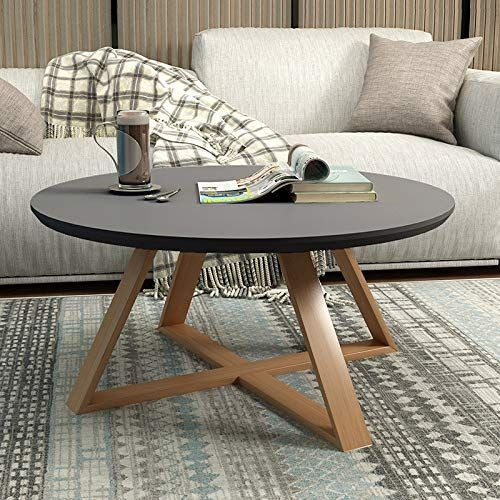 Gui Tea Table Round Bedroom Small Coffee Table Simple Living