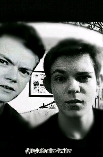 Robbie Kay And Thomas Sangster
