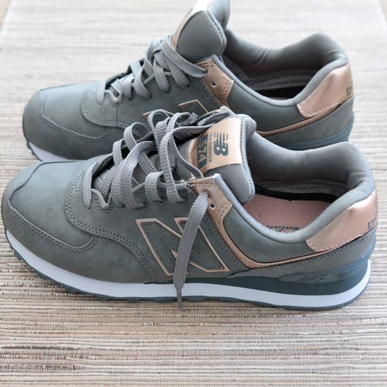 New Balance Metallic 574 Sneakers | Modish and Main... Just copped these and I'm in LOVE!!!!!!!