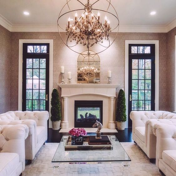 Glamorous Living Room Designs That Wows: Pinterest: Darlynprincess ♡