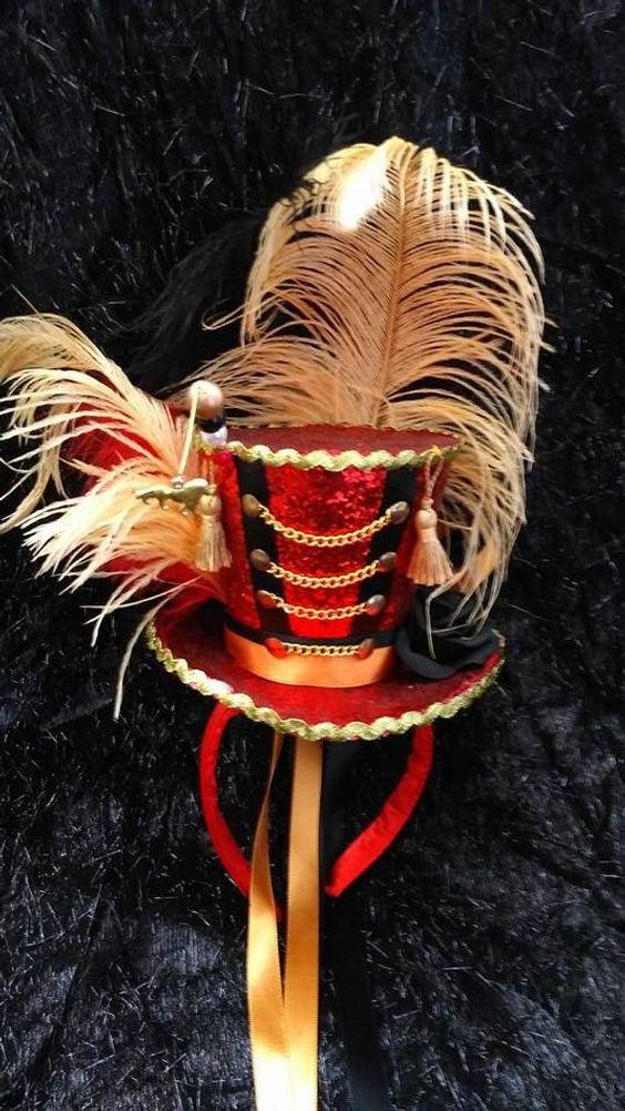 Bailarina de Burlesque circo León domador Mini Top Hat anillo | Etsy