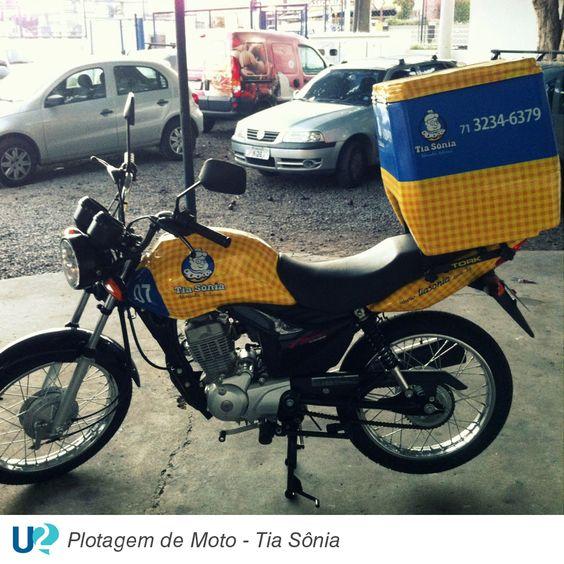 Plotagem de Moto - Tia Sônia