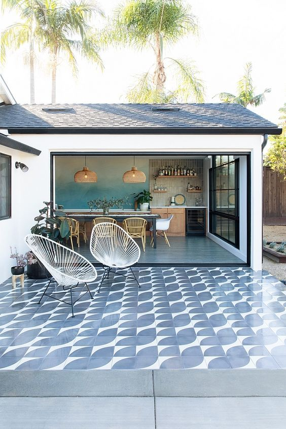 Beautiful Patio Design Ideas For Outdoor Living And Entertaining Outdoor Dining Room Patio Tiles Outdoor Tiles
