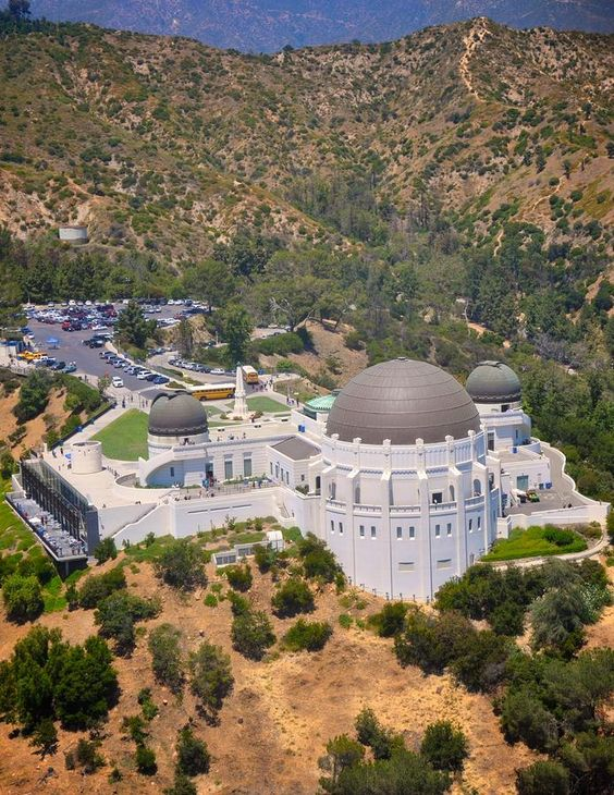 Griffith Park Observatory, Los Angeles, California by Matt MacMillan