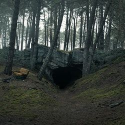 Winden Cave Caverna Ideias Criativas De Pintura Construcao De Minecraft Dark netflix cave wallpaper