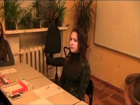 job application/interview dialogue