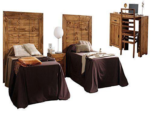 excelente Dormitorio rústico juvenil Encuentra más en http://www.cunas-para-bebes.net/tienda/producto/dormitorio-rustico-juvenil/