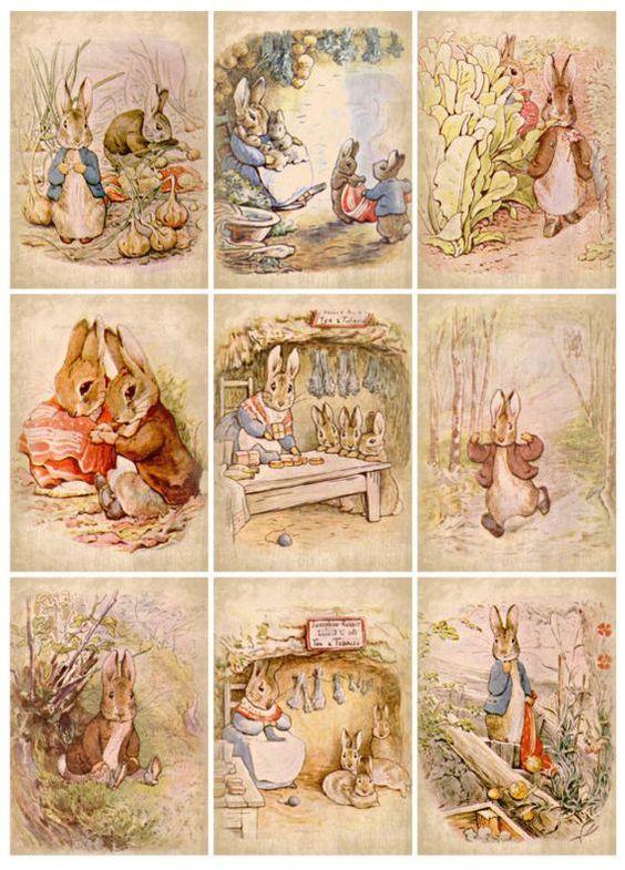 Le temps qui passe dans le jardin d'Eugénie, pagewoman:     english-idylls