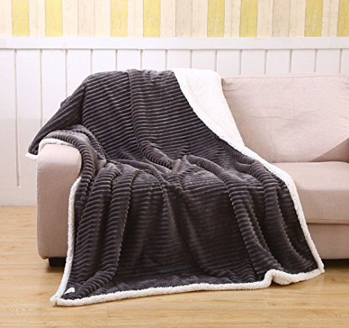 Printed Oversized Flannel Throw Blanket Soft Warm Cozy 50x70 Bed Sofa New!