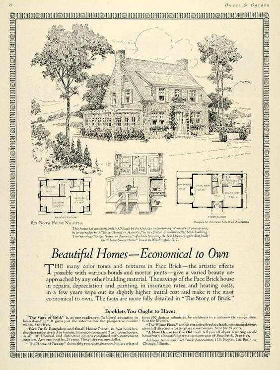 Ad Home Herbert Hoover And Bungalow House Plans On Pinterest