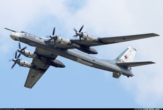Russian Air Force More: Tupolev Tu-95MS