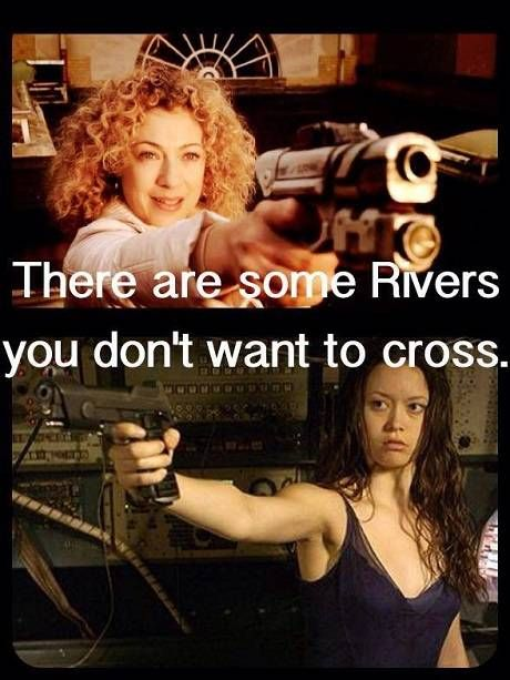 Rivers you shouldn't cross. Yeah, is it wrong that I just couldn't laugh and just backed away from the screen in awe.?