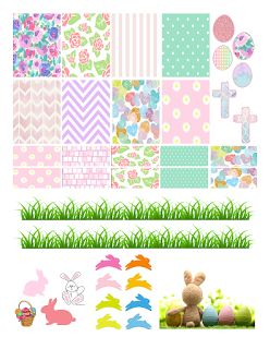 FREE Printable Sticker Kit @ planner.PICKETT: Easter | Planner ...