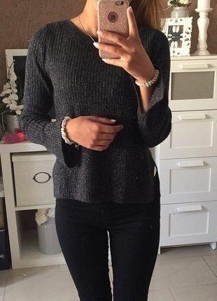 Schwarzer H&M Pullover