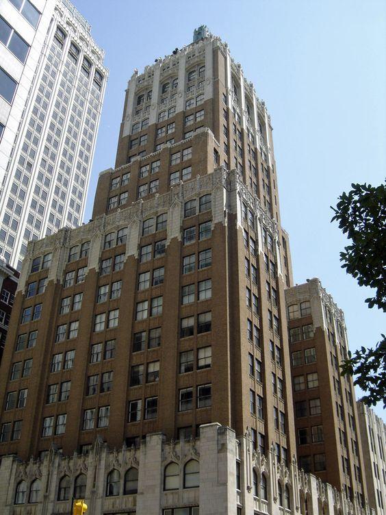 The Philtower Building is a landmark of Tulsa, Oklahoma ...