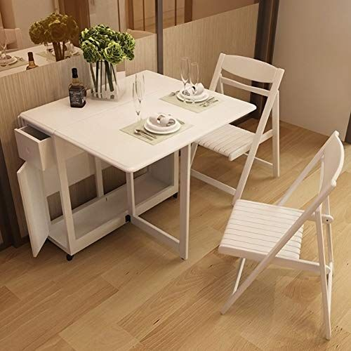 Xintongda Simple Dining Table Telescopic Table Foldable Dining