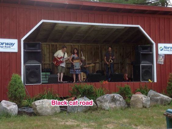 Black Cat Road, excellent use of the washboard and great vocals! Waterford Fair Maine