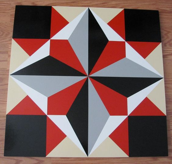 Barn Quilt Pattern Signs ... similar to Barn Quilt - Director s Choice pattern 24