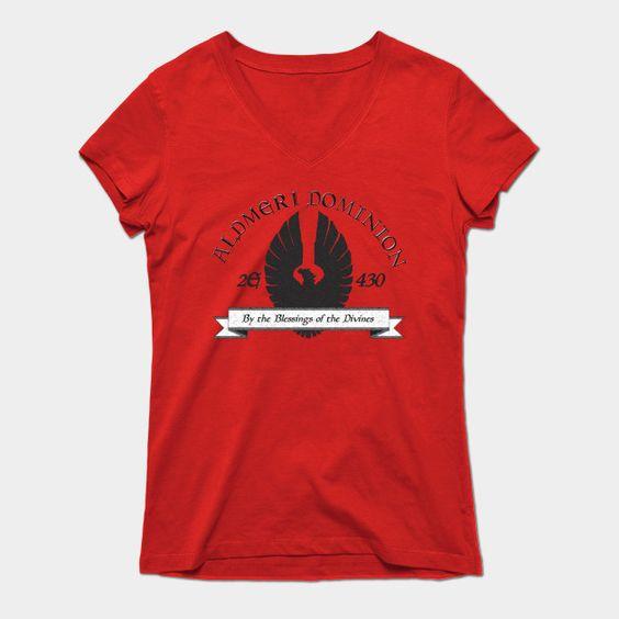 Aldmeri Dominion Womens V-Neck T-Shirt