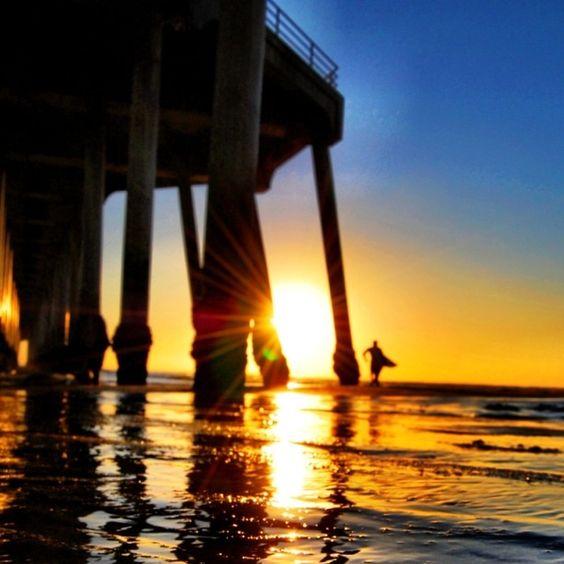 Places To Visit Huntington Beach Ca: Huntington Beach #surfcityusa