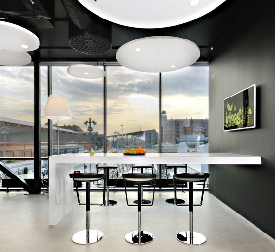 snyggaste kontor office lounge design