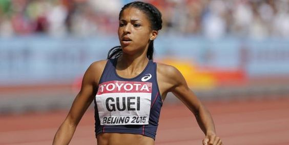 Victorieuse dimanche du 400m de Birmingham, étape de Ligue de diamant, grâce à un nouveau record personnel (50''84) qui l'envoie aux Jeux Olympiques de Rio (5-21 août), Floria Gueï a appris à gagner seule.