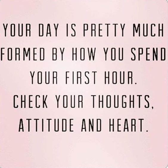 Happy Saturday!!  I am up before the rest of the family for some 'me' time!! This quote resonated with me because when I set my intentions for the day and I spend time reading first thing in the morning I have a better attitude for the day!  So this morning it's personal development first! -you might wake up feeling rusty from the week! You might be exhausted from the grind of your 9-5 being a parent or being the taxi driver to your kids. But remember that when you feel your soul you begin…