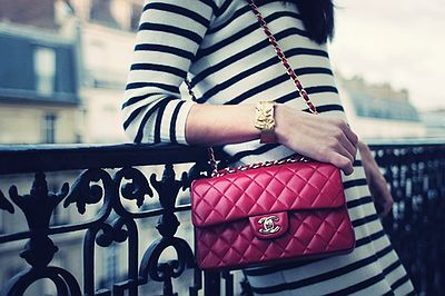 Cute Candy Colors Shoulder Bag for Outdoor, - Classic Red Chanel Shoulder Bag